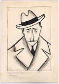 "view Adolphe Menjou in ""Morocco"" digital asset number 1"