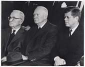 view Harry S Truman, Dwight D. Eisenhower and John F. Kennedy digital asset number 1