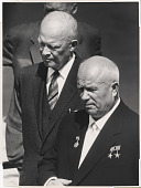 view Dwight D. Eisenhower and Nikita Khrushchev digital asset number 1