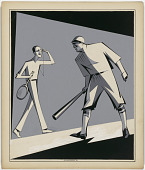 """view Bill Tilden and George Herman """"Babe"""" Ruth digital asset number 1"""