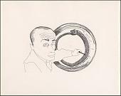 view Self-Portrait #4 (Snake) digital asset number 1