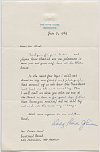 view Letter from Lady Bird Johnson to Peter Hurd digital asset number 1