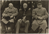 view Churchill, Roosevelt and Stalin at Yalta digital asset number 1