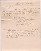 view Letter from Joseph Delaplaine to Jacob Rapelye digital asset number 1