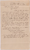 view Letter from Joseph Delaplaine to Jacob and Paul Rapelye digital asset number 1