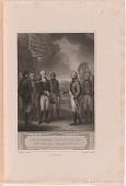 """view """"The Columbiad"""" -- Cornwallis Resigning his Sword to Washington digital asset number 1"""