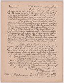 view Facsimile of letter from George Washington to Francis Hopkinson digital asset number 1