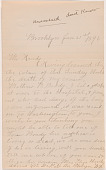 view Letter to L.C. Handy from Eliza Hardy digital asset number 1