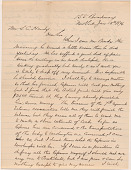 view Letter to L.C. Handy from William M. Riley digital asset number 1