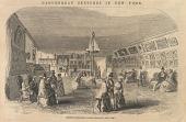 view Gurney's Daguerrean Saloon - Broadway, New York digital asset number 1