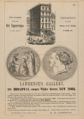 view Advertisement for M. M. Lawrence's Gallery, New York digital asset number 1