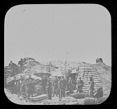view Pictures of the War, Headquarters of Field Officer of Trenches, Second Parallel digital asset number 1