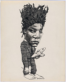 view Jean-Michel Basquiat digital asset number 1