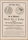 view M. B. Brady at the World's Fair in London digital asset number 1