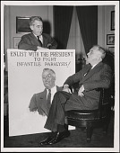 view James Montgomery Flagg and Franklin D. Roosevelt digital asset number 1