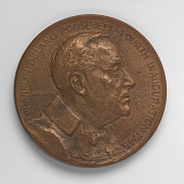 view Franklin D. Roosevelt, Fourth Inaugural Medal digital asset number 1