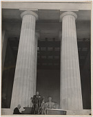view Marian Anderson sings at the Lincoln Memorial, Washington, D.C. digital asset number 1