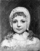view Child in a White Bonnet digital asset number 1