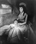 view Lucretia Shaw Woodbridge Perkins and Son, Nathaniel Shaw Perkins digital asset number 1