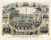 view The Result of the Fifteenth Amendment and the Rise and Progress of the African Race in America and its Final Accomplishment and Celebration on May 19th A.D. 1870 digital asset number 1
