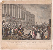 view Presidential Inauguration of Wm. H. Harrison digital asset number 1