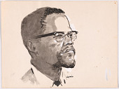view Malcolm X digital asset number 1