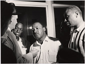 view Martin Luther King, Jr. (with Floyd McKissick) digital asset number 1