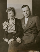view Amelia Earhart (with George Palmer Putnam) digital asset number 1