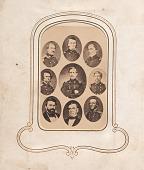 view Nine Confederate generals digital asset number 1