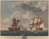 view Capture of H. B. M. Frigate Macedonian, Capt. J. S. Carden by the U. S. frigate United States, Stephen Decatur, Eqr., Commander digital asset number 1