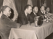 view Martin Luther King Jr. at Chicago Press Conference, January 1966 digital asset number 1