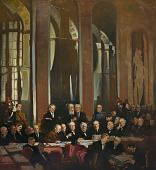 view Signing of the Treaty of Versailles, 1919 digital asset number 1