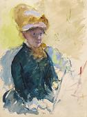 view Mary Cassatt Self-Portrait digital asset number 1