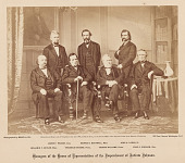 view Managers of the House of Representatives of the Impeachment of Andrew Johnson digital asset number 1