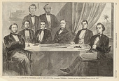 view The Cabinet of the Confederate States at Montgomery digital asset number 1