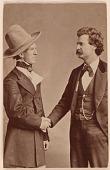 view Samuel Clemens (with John T. Raymond) digital asset number 1