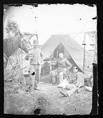 view Civil War Camp Scenes / Possibly New York 7th Regiment digital asset number 1