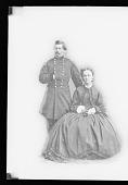 view George Brinton McClellan and Wife [Ellen Marcy] digital asset number 1