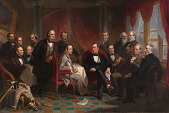 view Washington Irving and his Literary Friends at Sunnyside digital asset number 1