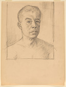 view Edward Laning Self-Portrait digital asset number 1