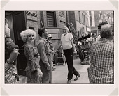 """view John Huston on the Set of """"Annie"""" digital asset number 1"""