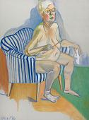 view Alice Neel Self-Portrait digital asset number 1