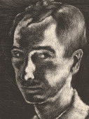 view George Biddle Self-Portrait digital asset number 1