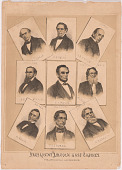 view President Lincoln and his Cabinet digital asset number 1