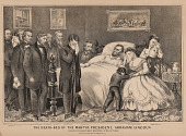 view The Death-Bed of the Martyr President, Abraham Lincoln digital asset number 1