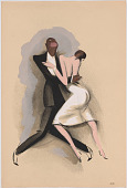 view Le Tumulte Noir/Dancing Pair with Woman in White digital asset number 1