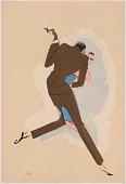 view Le Tumulte Noir/Dancing Pair with Man in Brown digital asset number 1
