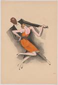 view Le Tumulte Noir/Dancing Pair with Woman in Orange digital asset number 1