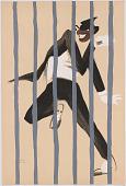 view Le Tumulte Noir/Man Behind Bars digital asset number 1