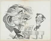 view Leonard Bernstein and Adolph Green digital asset number 1